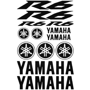 Yamaha R6 Motorbike Stickers Car Motorbike Vinyl Decals